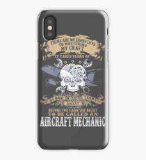 Aircraft Mechanic iPhone Case