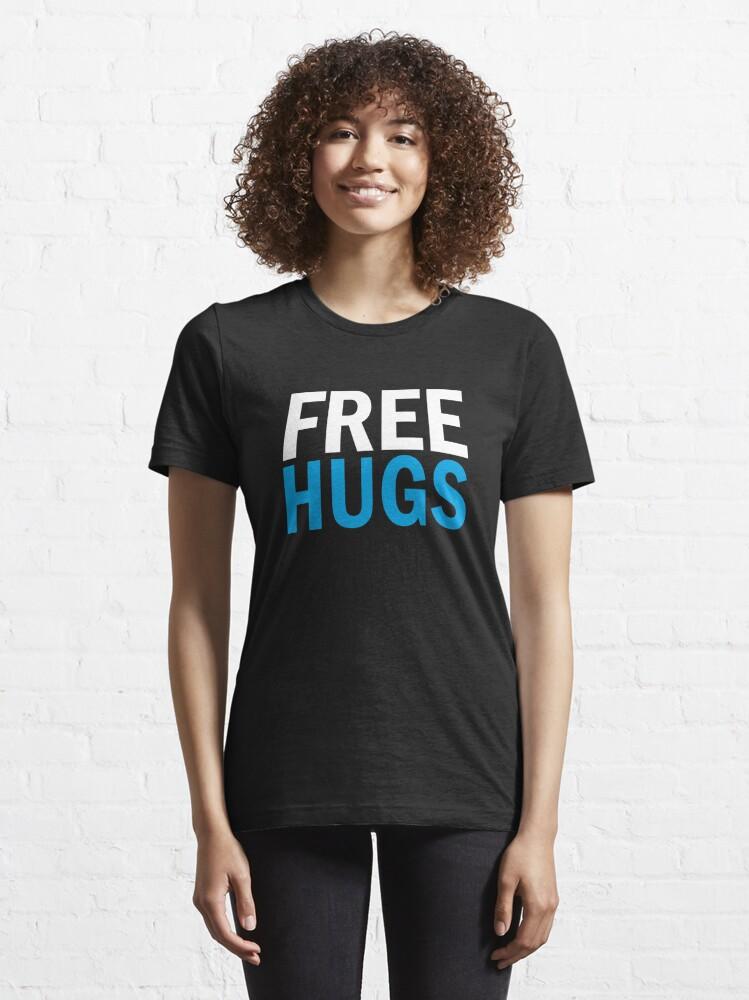 Alternate view of Free Hugs Essential T-Shirt