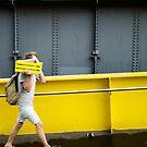 Two legged urban camo - Melbourne Australia by Norman Repacholi
