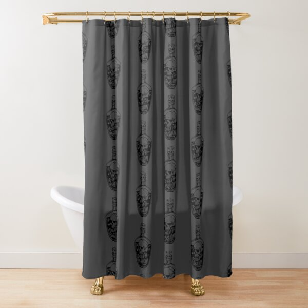 Death Potion Shower Curtain