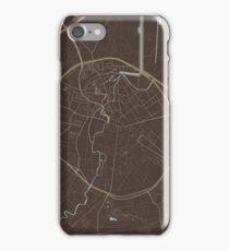 Leuven Map (Autumn II) iPhone Case/Skin