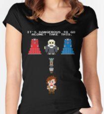 Doctor Who Meets Zelda Women's Fitted Scoop T-Shirt