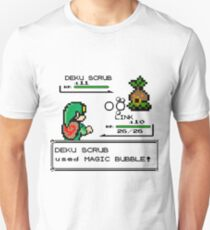 Zelda Pokemon Fight Unisex T-Shirt