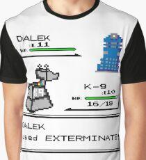 Doctor Who Pokemon Battle Graphic T-Shirt