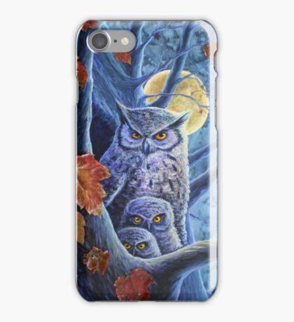 Harvest Moon Owls iPhone Case/Skin