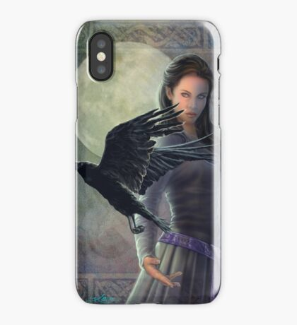 Celtic Raven iPhone Case