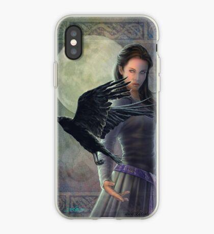 Celtic Raven iPhone Case