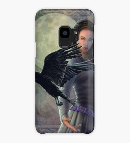 Celtic Raven Case/Skin for Samsung Galaxy