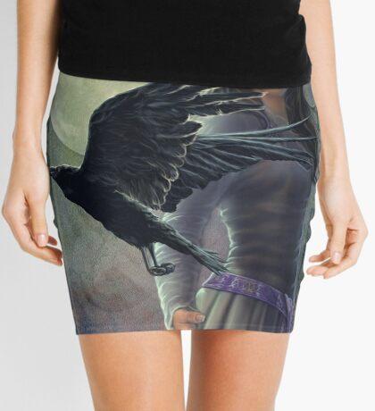 Celtic Raven Mini Skirt