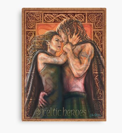 Celtic Heroes Canvas Print