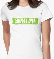 Killin' it.  Women's Fitted T-Shirt
