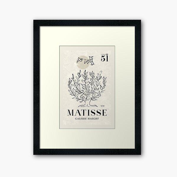 Matisse Tree Art Framed Art Print