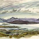 view from the Bealach by Vicky Stonebridge