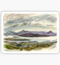 view from the Bealach Sticker