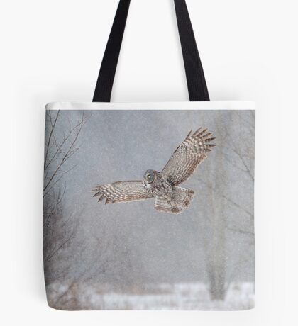 Towards the Heavens - Great Grey Owl Tote Bag