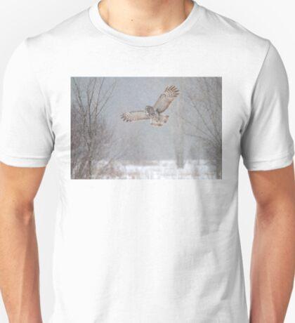 Towards the Heavens - Great Grey Owl T-Shirt