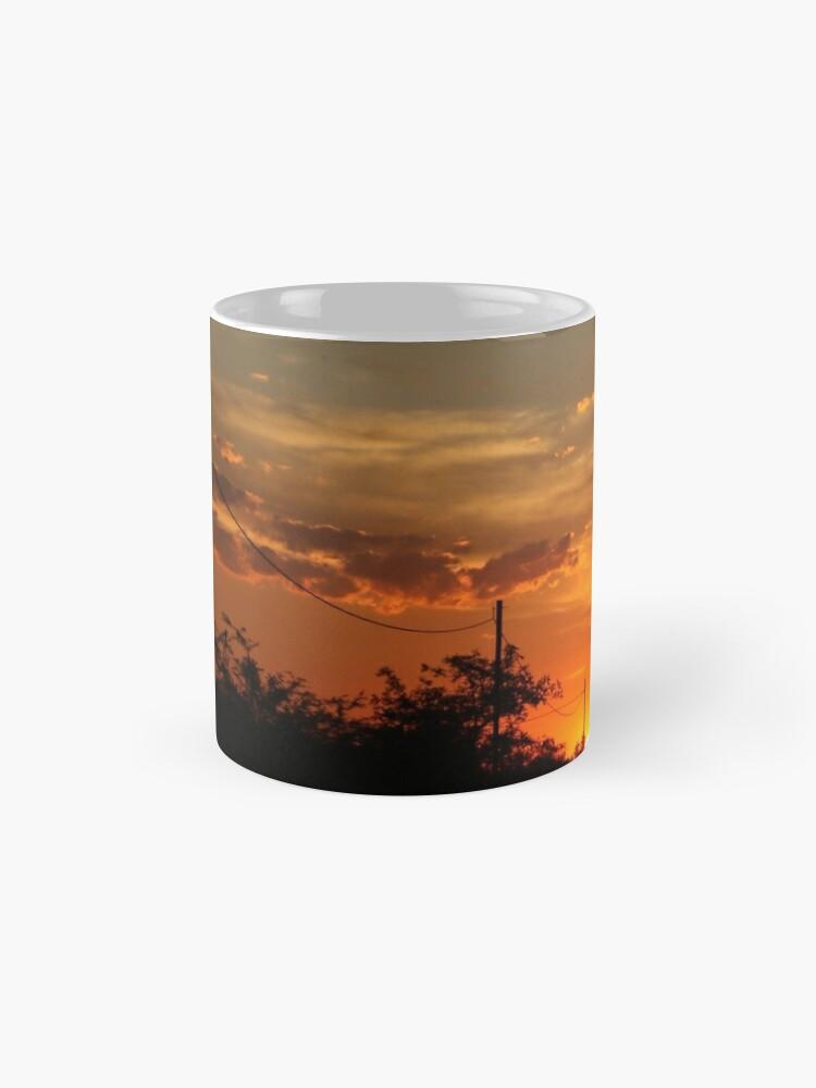 Alternative Ansicht von Sonnenuntergang Folie Tassen