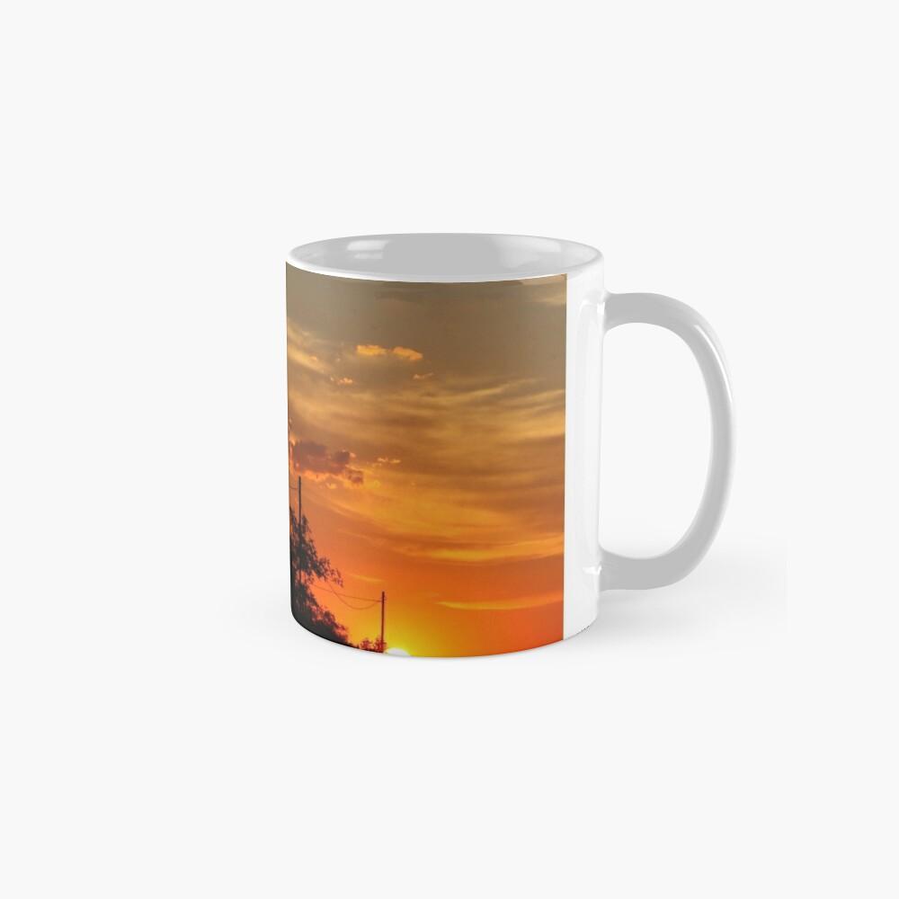 Sonnenuntergang Folie Tassen