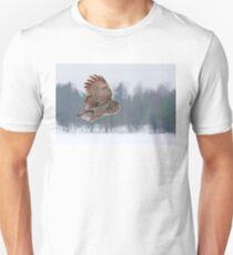 Flyby - Great Grey Owl Unisex T-Shirt