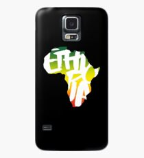 Ethiopia in Africa - White Case/Skin for Samsung Galaxy
