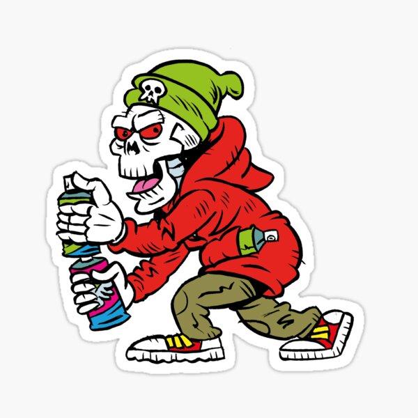 Graffiti Punk Artist Sticker