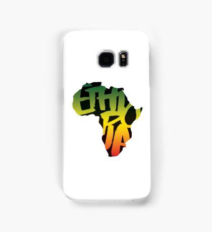 Ethiopia in Africa - Black Samsung Galaxy Case/Skin