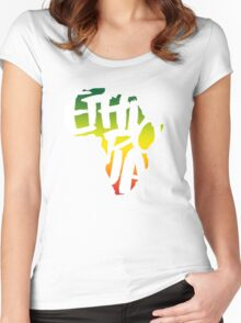 Ethiopia in Africa - White Women's Fitted Scoop T-Shirt