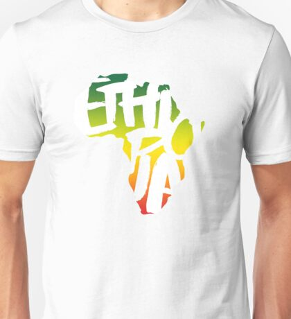 Ethiopia in Africa - White T-Shirt