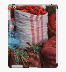 Vegetables at the Market iPad Case/Skin