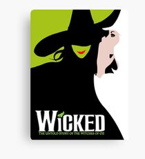 Wicked Broadway Musical Canvas Print