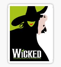 Wicked Broadway Musical Sticker