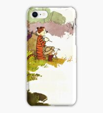 Calvin and Hobbes Adventure iPhone Case/Skin