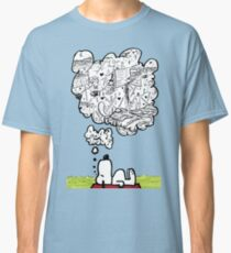 Snoopy Dreams Classic T-Shirt