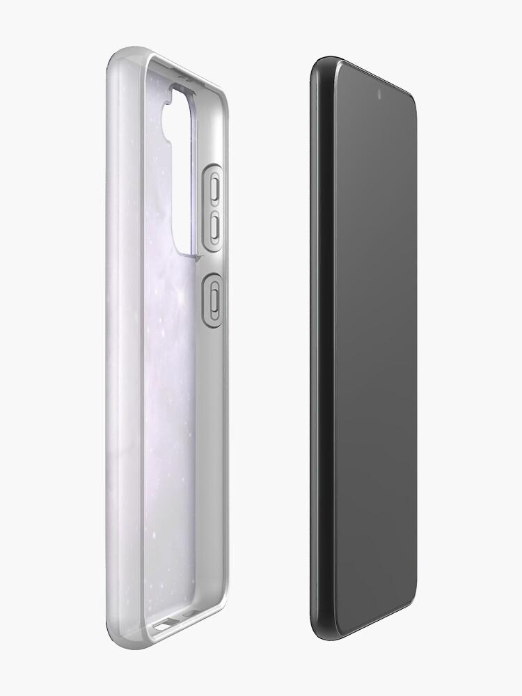 Alternate view of Purple Nebula  Case & Skin for Samsung Galaxy