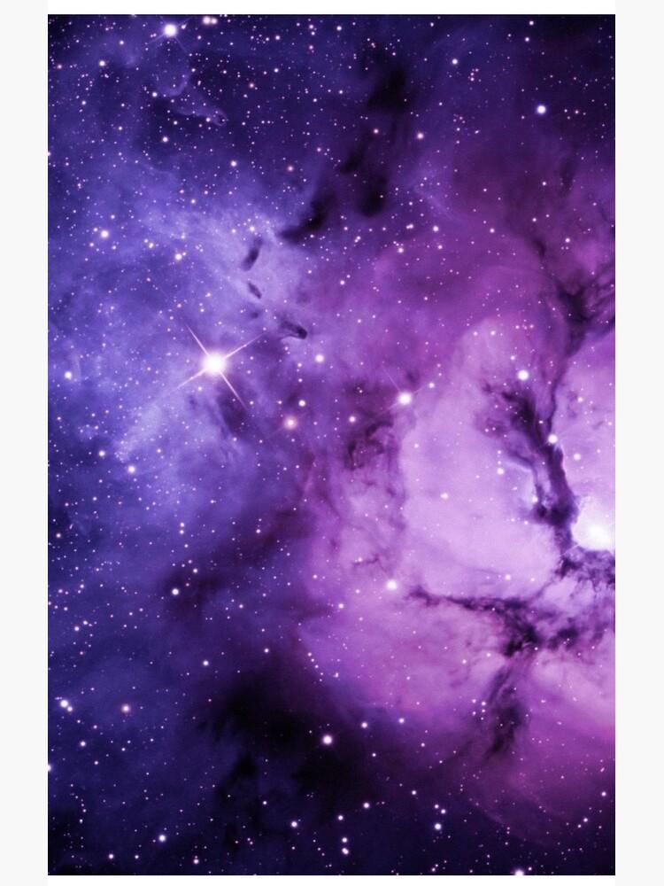 Purple Nebula  by AnnabelStar