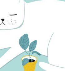 Inspiring Cat  Sticker