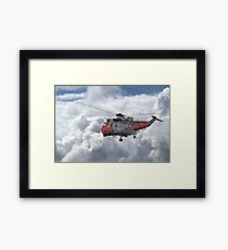 Royal Navy - Sea King Framed Print