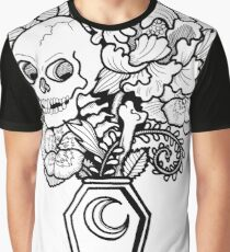 Bouquet Decay: Memento Mori Graphic T-Shirt