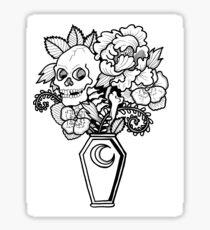 Bouquet Decay: Memento Mori Sticker