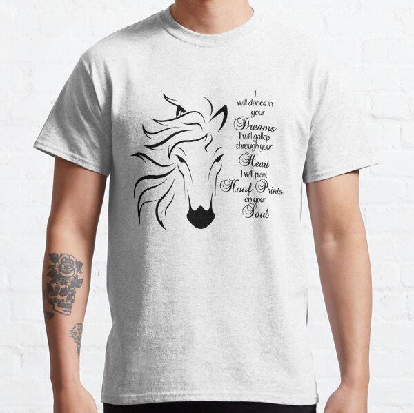 Horses Ew People Shirt Funny Horses Animal Lovers Sarcasm Vintage Men/'s T-Shirt