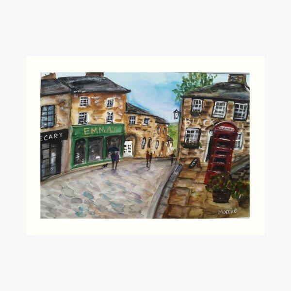 Haworth West Yorkshire  Art Print