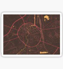 Leuven Map (Summer) Sticker
