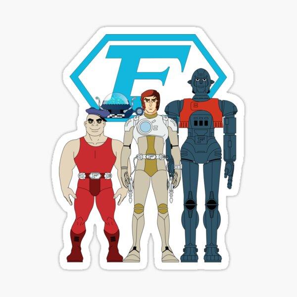 Captain Future Crew Sticker