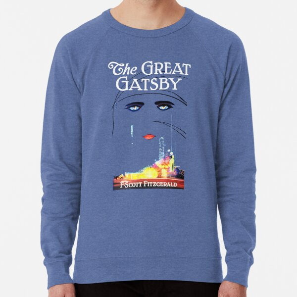 The Great Gatsby Book Cover - Book Lover  Lightweight Sweatshirt