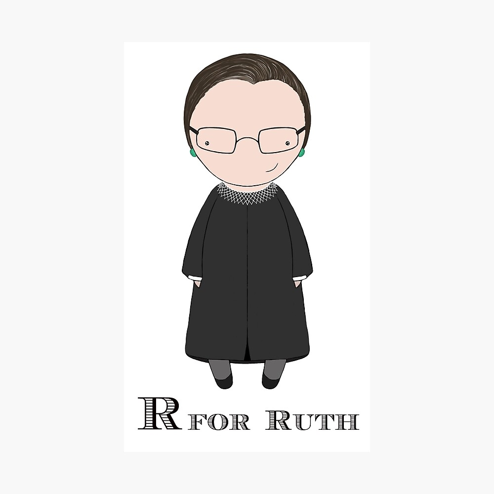 R is for Ruth Photographic Print