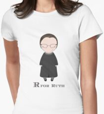 R is for Ruth Women's Fitted T-Shirt