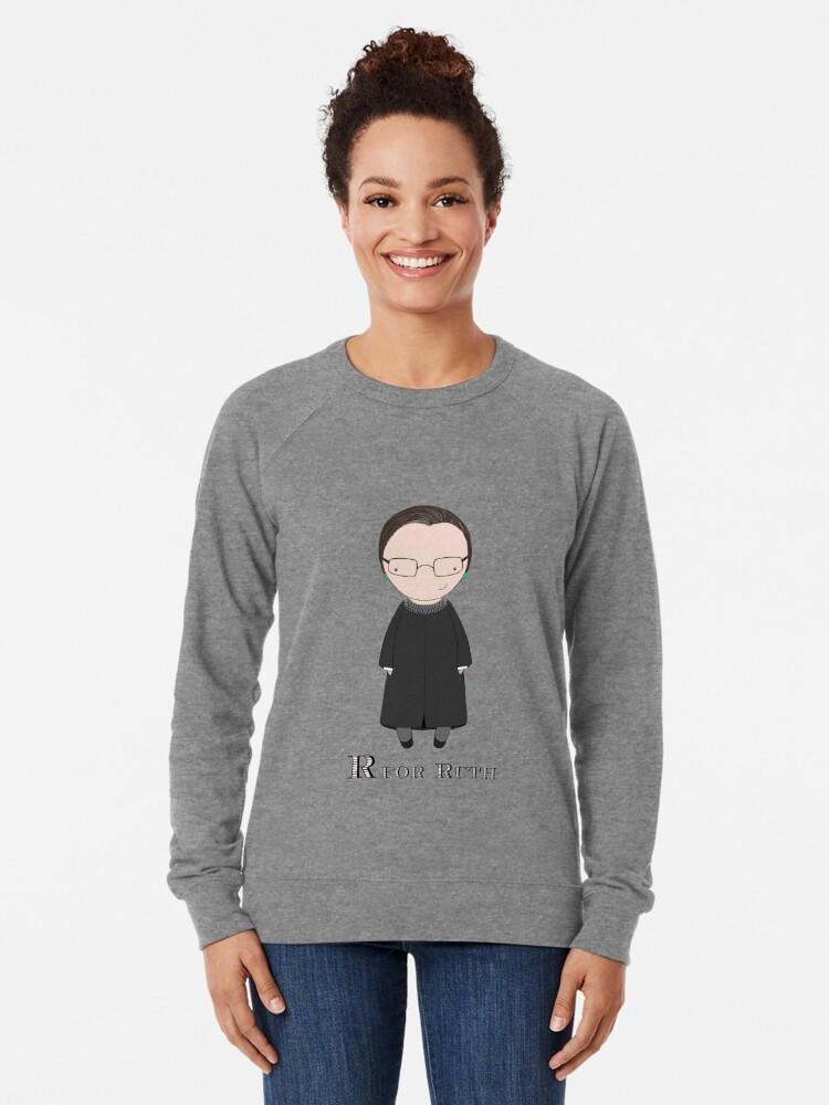 Alternate view of R is for Ruth Lightweight Sweatshirt