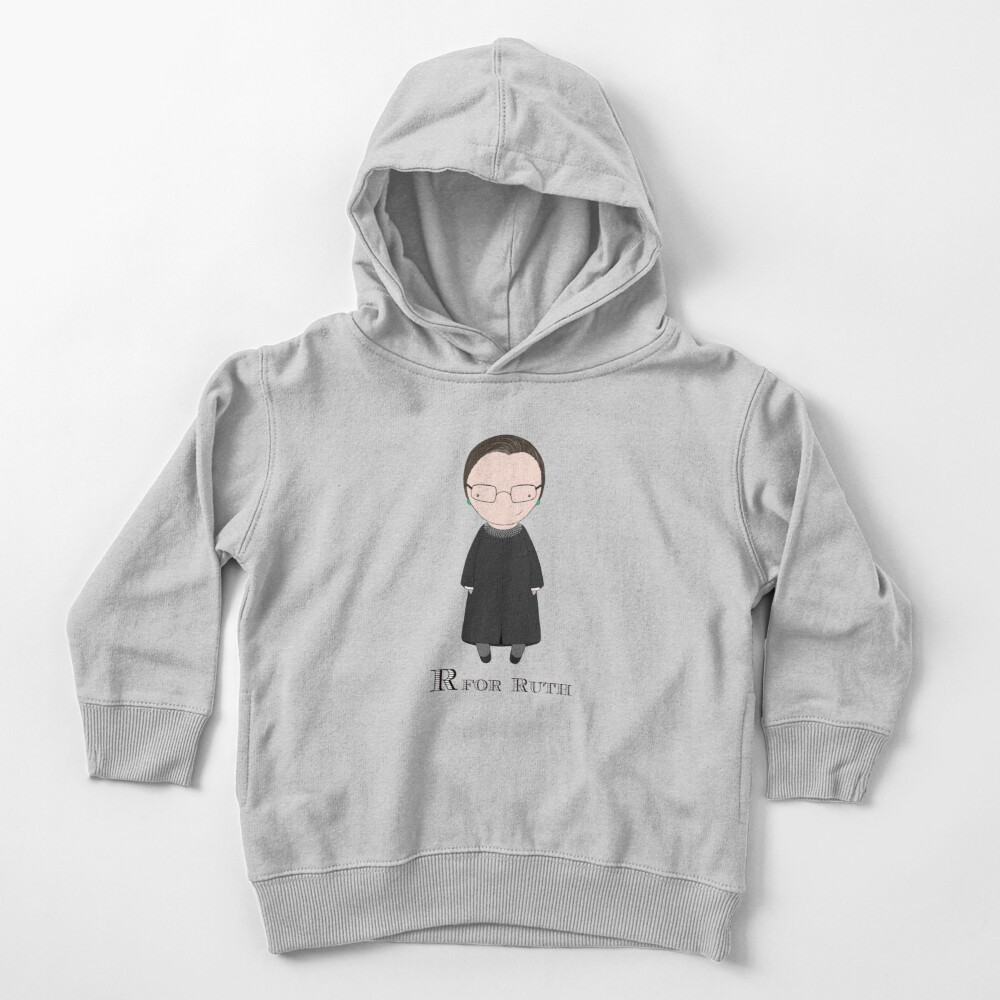 R is for Ruth Toddler Pullover Hoodie