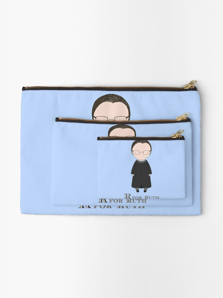 Alternate view of R is for Ruth Zipper Pouch
