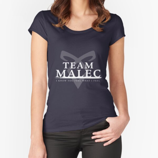 Shadowhunters - Team Malec Fitted Scoop T-Shirt